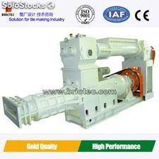 Roof tile making machine-double stage vaccum extruder