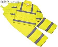 Ropa impermeable de Polyester/pu