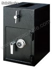 Rotary hopper deposit safe- night depository safe