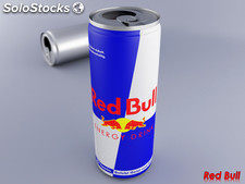 Rotes bull-energie-getränk,,,,,,,,,,