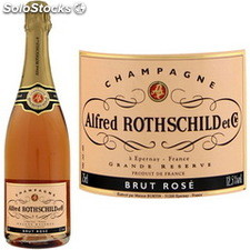 Rothschild champagne rose 75CL