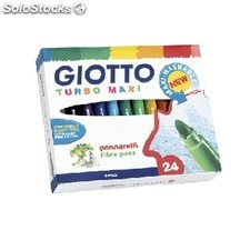 Rotulador giotto maxi 24 Colores