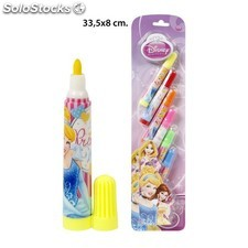 Rotulador mini, disney, -princess-, 6uds.