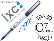 Rotulador roller inoxcrom free ink office campus azul 0,7MM