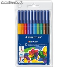 Rotulador Staedtler 326 10 colores