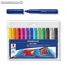 Rotulador staedtler 340 12 Colores