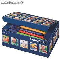 Rotuladores colores class pack 100 uds. surtidos noris club 326 staedtler