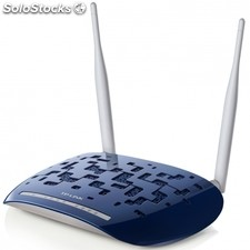 Router inalambrico tp-link td-W8960N 300MBPS ADSL2 4PUERTOS 10/100 2 antenas