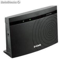 Router + repetidor wifi d-link 300 mbps + switch 4 puertos