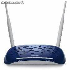 Router wifi 300 mbps adsl2+ 4 ptos switch tp-link