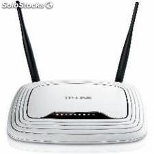 Router wifi 300 mbps + switch 4 ptos antenas extraible tp-link