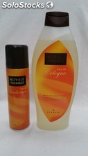Royal ambree lote colonia 750ml + desodorante