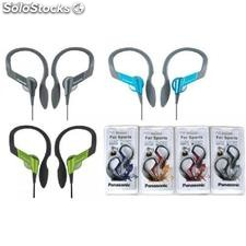 Rphs33e Auriculares cascos Panasonic deportivo fitness patillas impermeable
