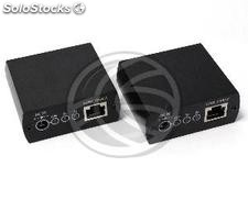 RS232 Extender UTP transmitter and receiver Cat.5 RE01 (SH331)