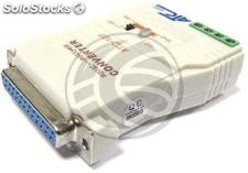 RS232 to RS422 converter and optically isolated RS485 400W (DB25) (TI39)