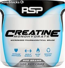 RSP Nutrition Creatine Monohydrate, 500 Grams