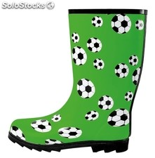 Rubber Boots Fussball