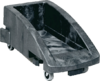 Rubbermaid carritos ruedas contenedores slim jim gris para slim jim 099169