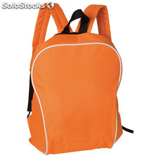 Rucksack. Orange/white
