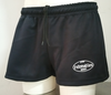 Rugby Shorts, Pantalon Rugby profesional, color Negro