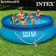 Runder Pool mit Filterpumpe Intex