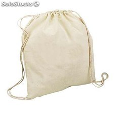 Sac a dos en coton naturel