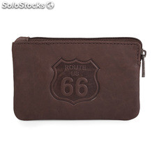Sac à main R41002 peau marques route 66 Marron