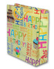 Sac cadeaux happy birthday - decor inscription