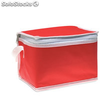 Sac iso pour 6 cannettes MO7883-05, rouge