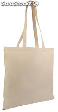 Sac shopping 38x42 cm, coton naturel épais 220grs