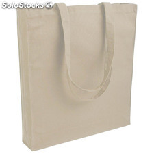 Sac shopping coton naturel épais 220grs
