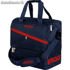 Sac Unisexe marine/rouge sport collection