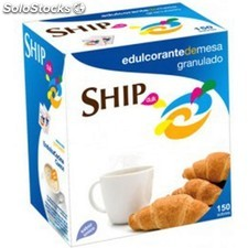 Sacarina ship, caja dispensador con 500 sobres de 1GR - ship dulk -