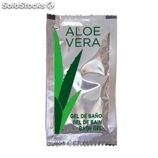 Sachet gel bain aloe vera - 10 ml 10x5 cm pet