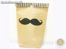 "Saco decorativo de almacenaje "" Living in Sack"" · MOUSTACHE"