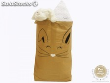 "Saco Decorativo ""Living in Sack"" · Rabbit"