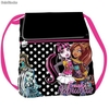 Saco mochila Monster High Fabulous grande con solapa