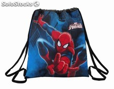 "Saco plano spiderman ""GO spidey!"""