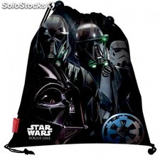 Saco Star Wars Rogue One Imperial 35x27cm.