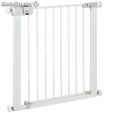 Safety 1st Puerta de seguridad Easy Close 73 cm metal blanco 24754310