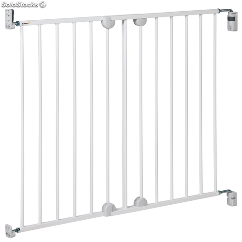 Safety 1st Puerta de seguridad Wall Fix Extending Metal 72,5 cm 24384312