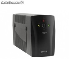 Sai ngs Fortress 600 Off Line 500VA 2 x shucko