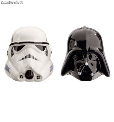 Salero y Pimentero Star Wars Darth Vader y Stormtrooper