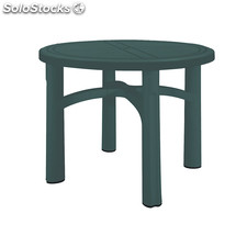 Salsa round table dark grey