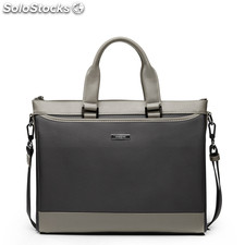 Sammons serie gloria Gentleman shoulderbag bolsa messenger Oxford bolsas Negro