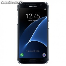 """Samsung - Clear Cover 5.1"""""""" Cover case Negro"""
