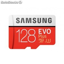 Samsung - evo Plus mb-MC128G 128GB MicroSDXC uhs-i Clase 10 memoria flash