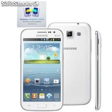 "Samsung Galaxy Win Duos Branco Dual 4.7"" Android 4.1 Quad Core, 3g Wi-Fi 5mp"