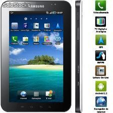 Samsung Gsm Galaxy Tab Gt-p100 Branco Tv Digital, Câmera Frontal 3.2mp, Wi-fi, A
