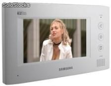 "Samsung Video Türsprechanlage mit 7"" Farb LCD Monitor - SAW-01"